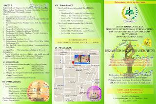 DPD Pormiki Riau : Pelatihan Rekam Medis dan Informasi Kesehatan 2016 Hotel Cititel Pekanbaru