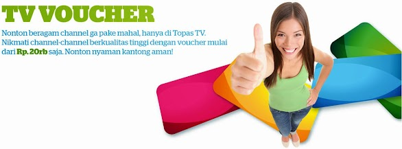 Voucher Topas TV Online