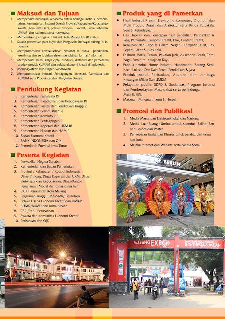 Promosi Malang City Expo 2017 - Stadion Gajayana