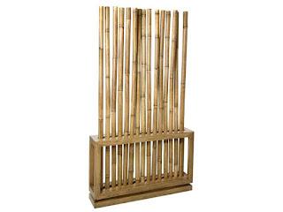 Separador cañas de bambu Natural