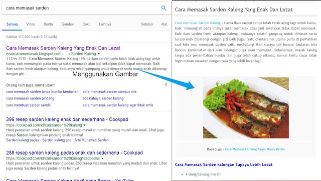 studi kasus pengaruh gambar terhadap peringkat google