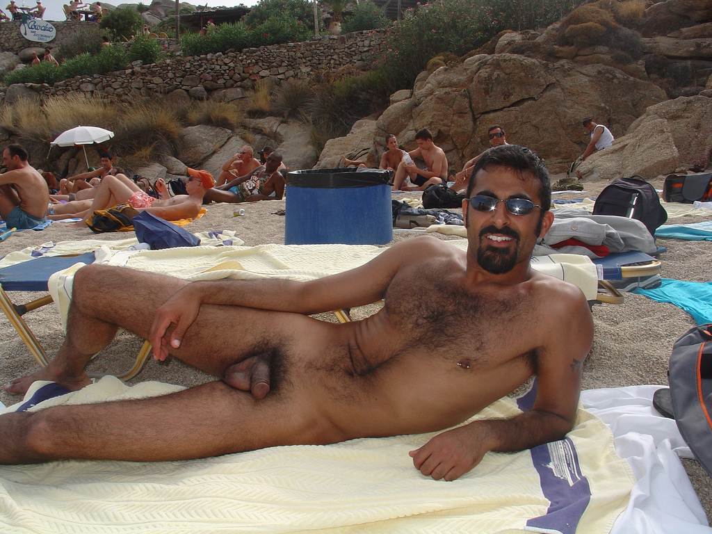 Naked male beach video-8333