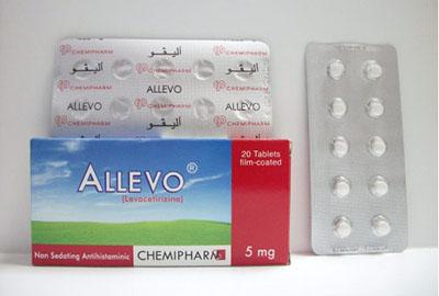 سعر ودواعى إستعمال أقراص أليفو Allevo مضاد للحساسية