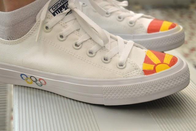 Bild des Tages - Makedonische Chucks für Rio