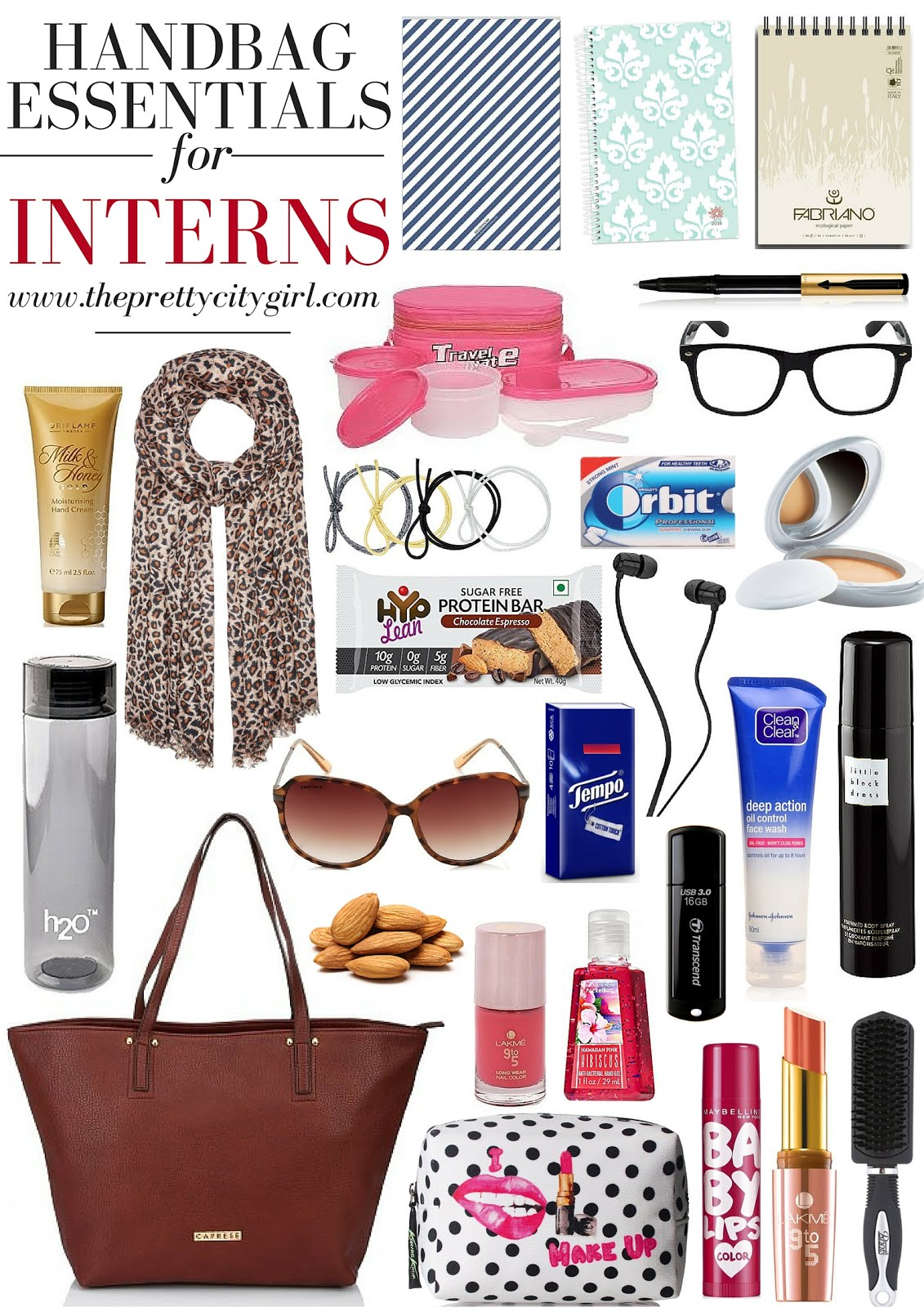 Handbag Essentials For Interns