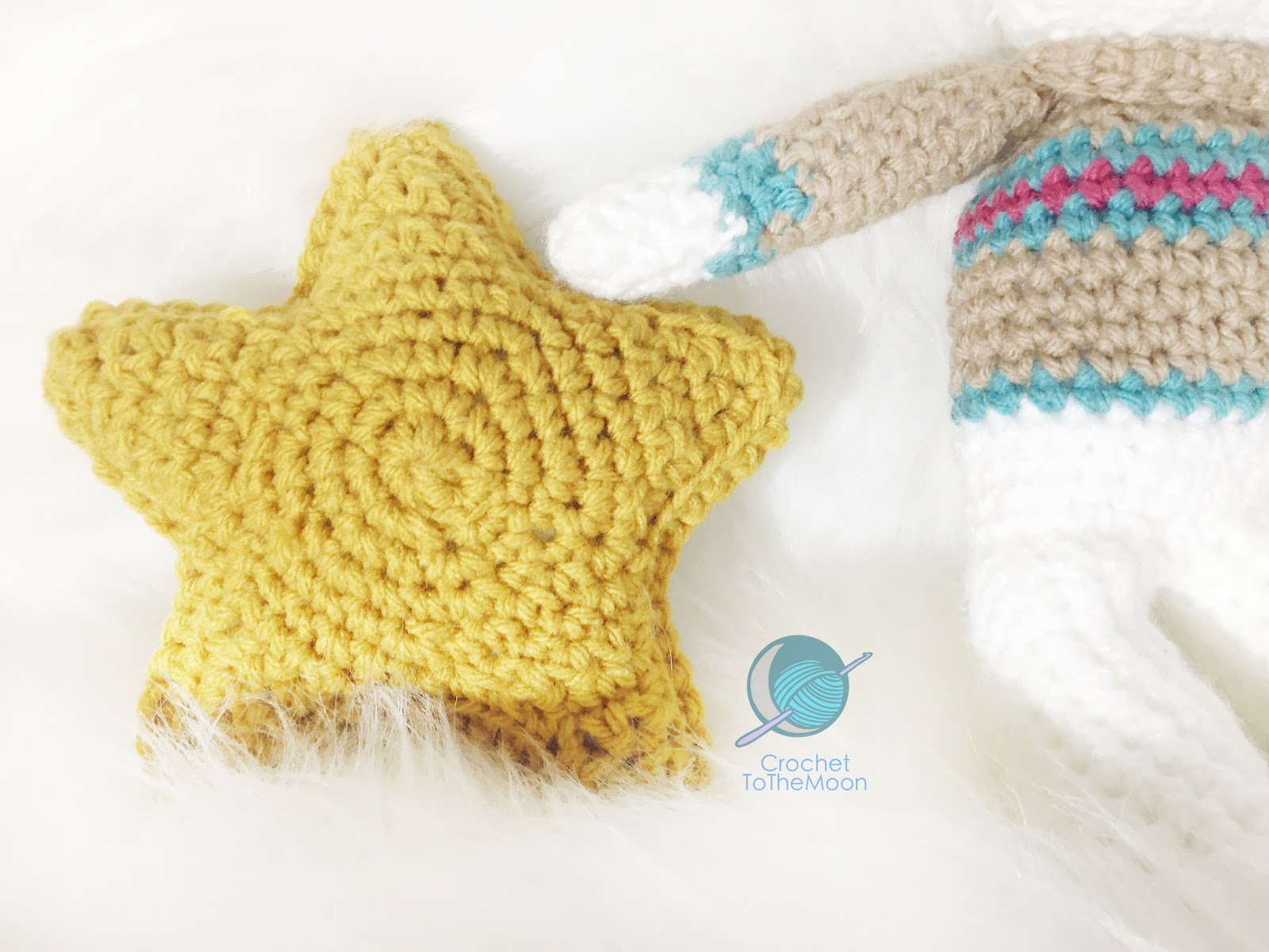 It Is All In The Stars Free Amigurumi Star Pattern Crochet To The