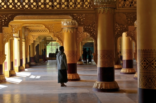 Pałac Kanbawzathadi, Bago, Birma