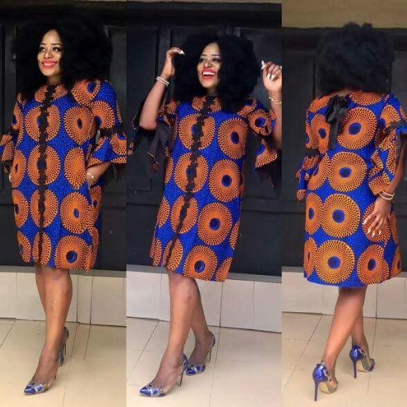 Ankara Short Gown Dresses – Dresses for Woman