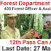 PSC Recruitment 2019 - Forest Department Recruitment for 430 Forest Officers & Assistant Beat Officers