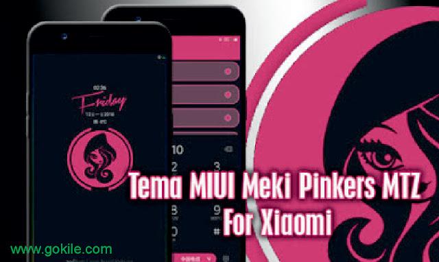 Tema Meki Pinkers V1 Mtz Terbaru For Xiaomi Paling Keren,Xiaomi, Tema,