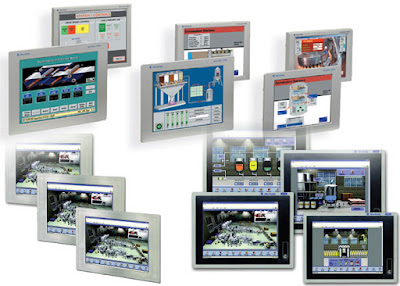 Allen Bradley Industrial-Monitors