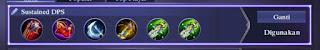 Tips Memilih Emblem, Ability, Gear Lancelot Mematikan