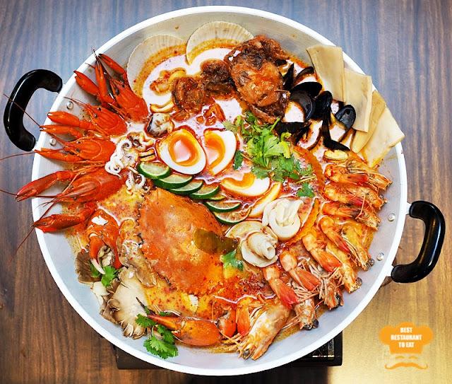 Thai Super Seafood Tom Yum Pot