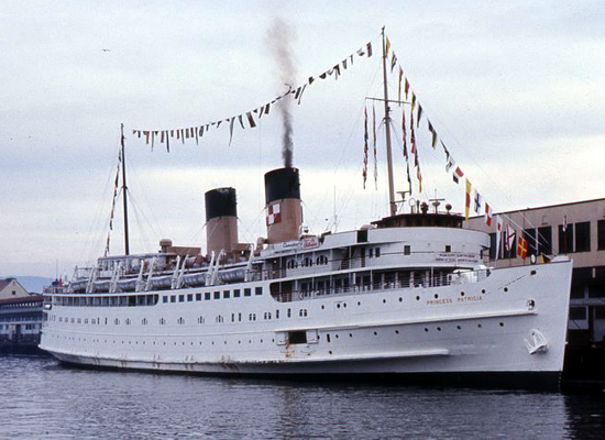 Princess Cruises - Princess Patricia 1965