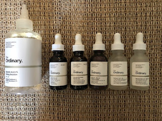 productos the ordinary, the ordinary vitamin c, the ordinary niacinamide, the ordinary reservatrol, the ordinary matrixyl