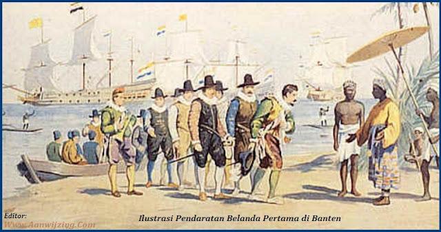 Pendaratan Belanda Pertama di Banten