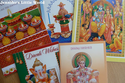 Selection of Diwali cards