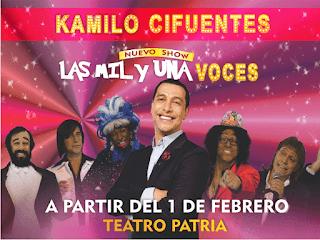 KAMILO CIFUENTES Las mil y una voces| Teatro Patria