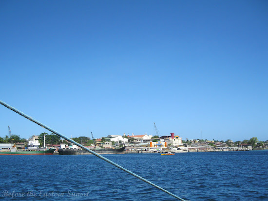 Masbate City, Bicolandia as viewed from the sea