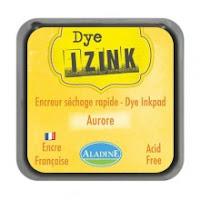Izink dye based ink pad - Jaune Aurore