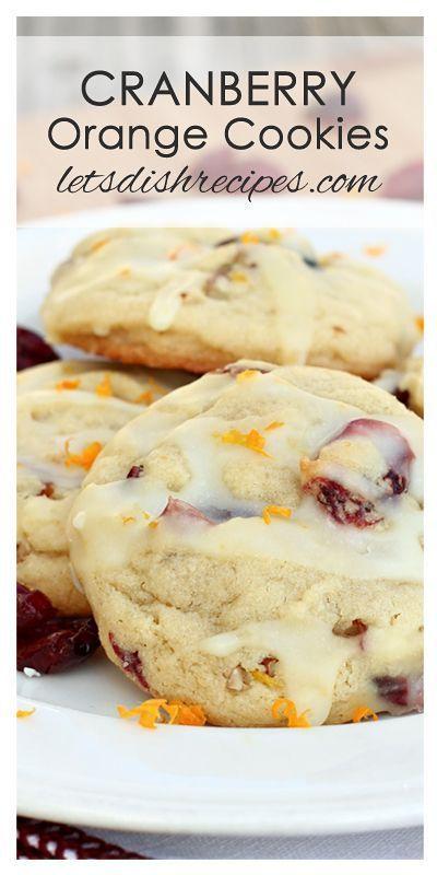 CRANBERRY ORANGE COOKIES #Cranberry #ORange #m&m #MandM #Cookies #Bestcookies