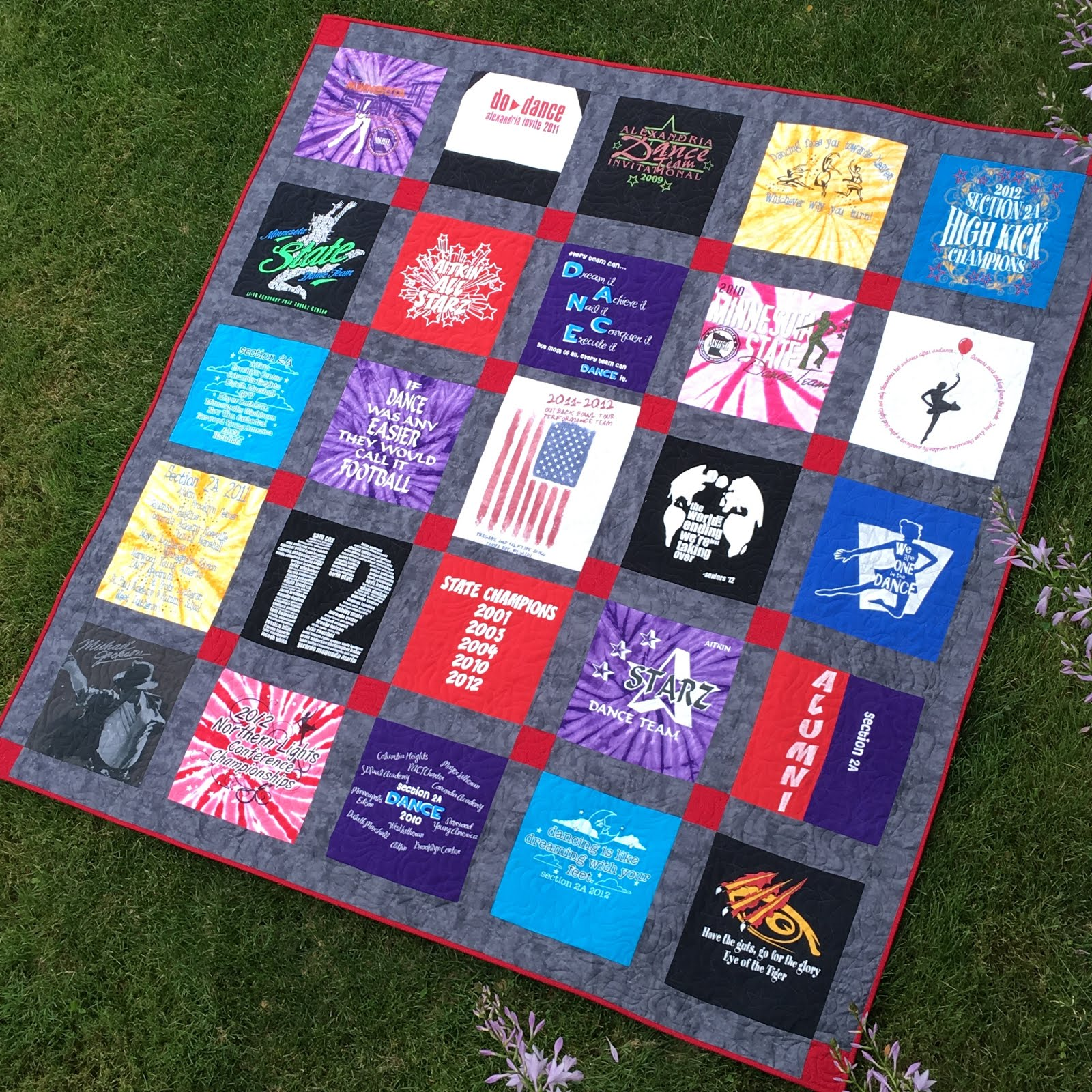 Grace And Peace Quilting Dance T Shirt Quilt Tips