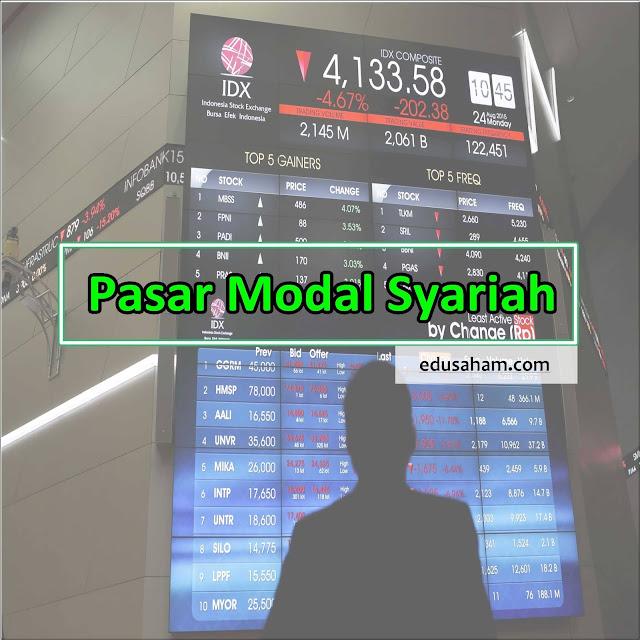 Gambar Pengertian Pasar Modal Syariah