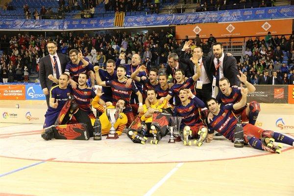 HOCKEY PATINES - Copa del Rey 2016 (Reus): Barcelona alza su 20ª Copa frente al Vic