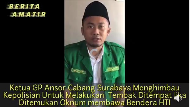 Banser Minta Pembawa Atribut HTI Tembak di Tempat, Pakar Hukum: Indonesia Negara Hukum:  Bukan Negara Peraturan apalagi Negara Sontoloyo