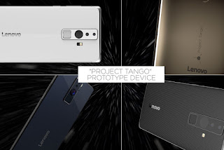 Lenovo PHAB 2 Pro, Google Project Tango smartphone