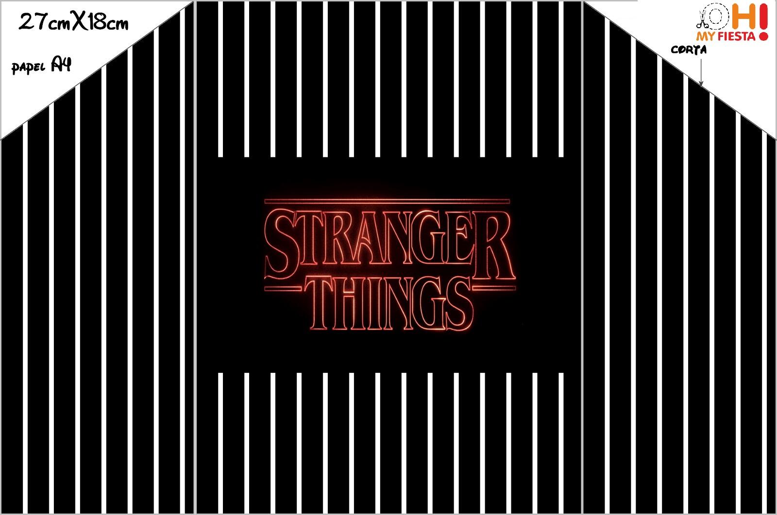 Stranger Things Invitaciones Para Imprimir Gratis Oh My