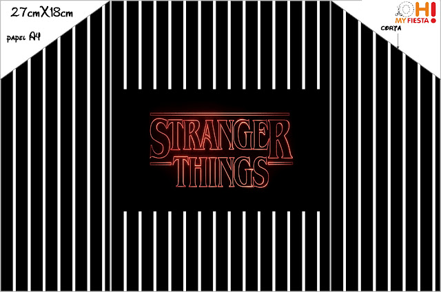 Stranger Things: Free Printable Invitations.
