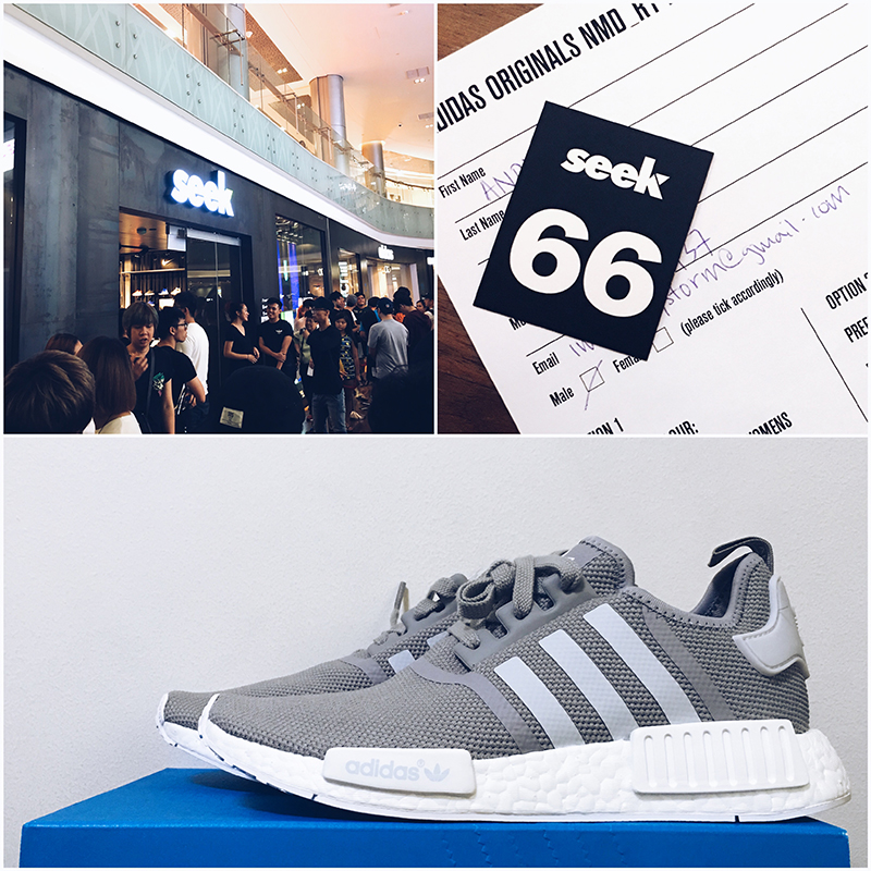 ... i decided to queue up overnight like everyone else so that i could own  one of these NMDs. Made the decision to go down to SEEK (one of the retailer  ... cdb8d80c6032