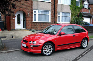 MG Rover 25 1.4 Solar Red Modified ZR Bodykit