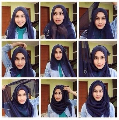 Hijab Pashmina Paris Modis