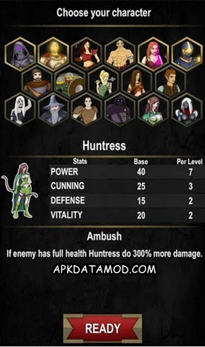 Choosing Characters Dungeon Adventure Heroic Ed