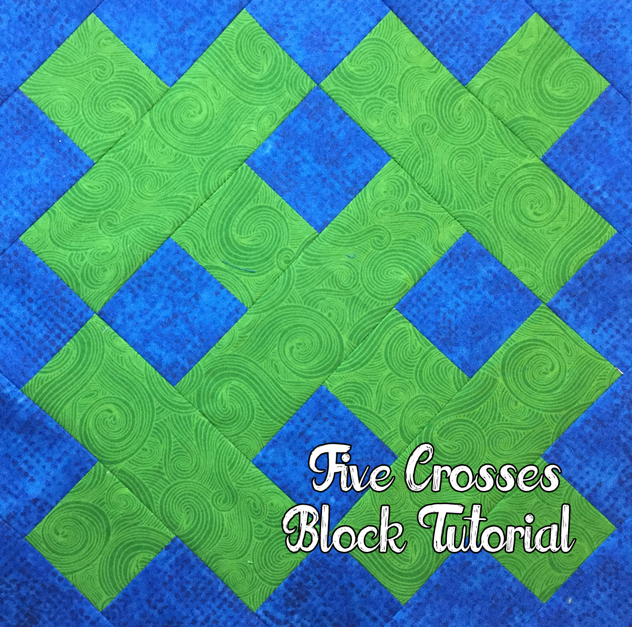 http://hotpinkquilts.blogspot.com/2016/01/five-crosses-block-tutorial.html