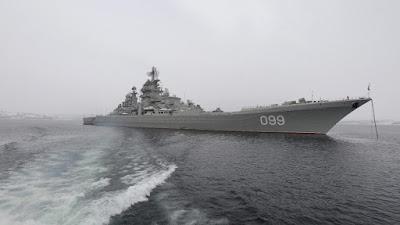 El crucero de batalla de propulsión nuclear ruso Piotr Veliki (Pedro el Grande)Evgeny EwshencoSputnik