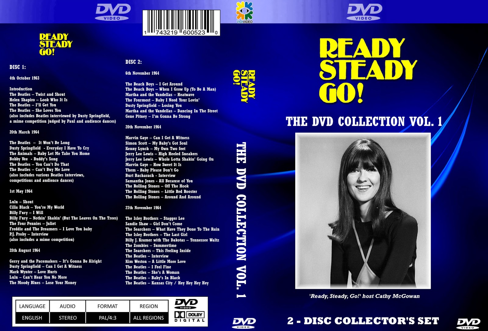 Music TV and Video Archives: VARIOUS TV SHOWS on DVD