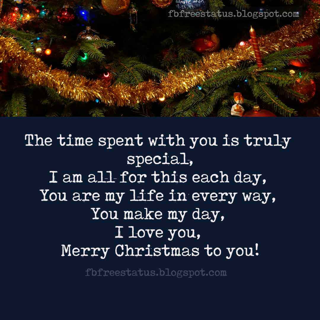 Best Christmas love quotes for girlfriend