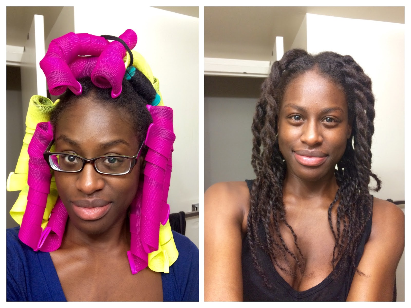 How I Use Curlformers For Natural Hair