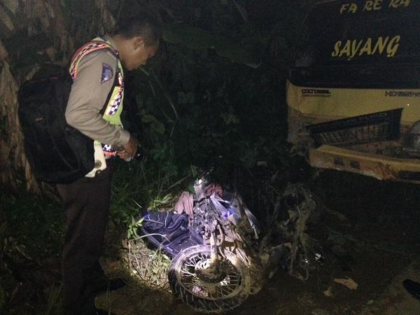 Kecelakaan di Sekadau, Seorang Pengendara Sepmot Meninggal Dunia