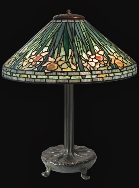Authentic Tiffany Lamp Expert February 2014