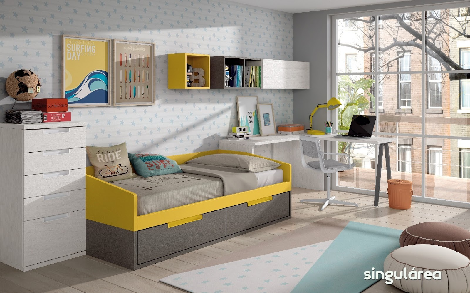 Blog dormitorios juveniles com novedades camas nido para - Ver habitaciones infantiles ...