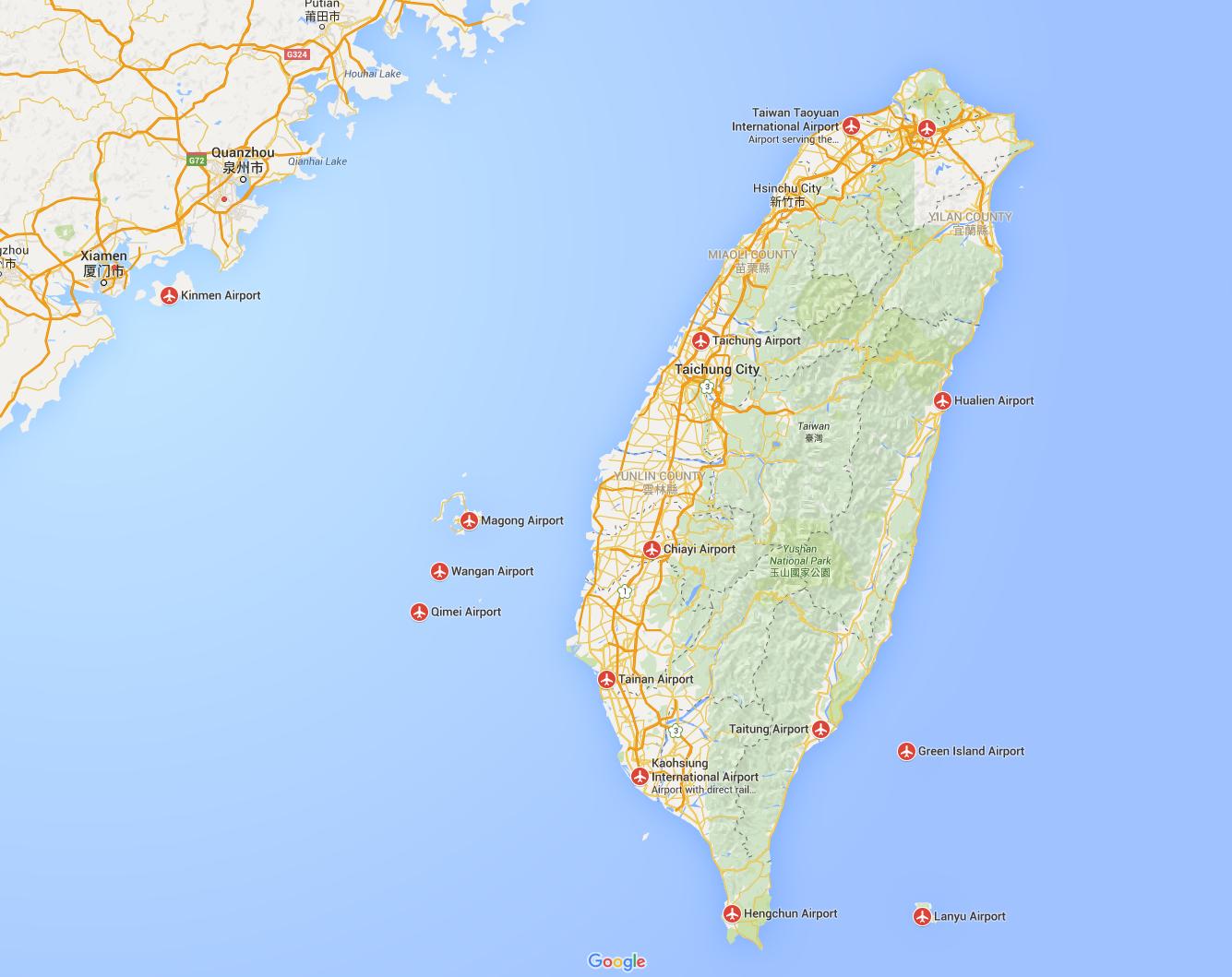 Airports Taiwan