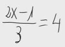 9. Ecuación de primer grado (división)