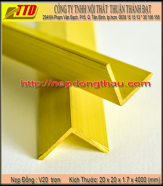 nẹp cầu thang V20 mm