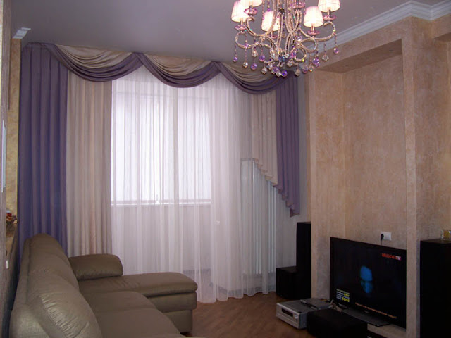 Curtains Sewing for Living room