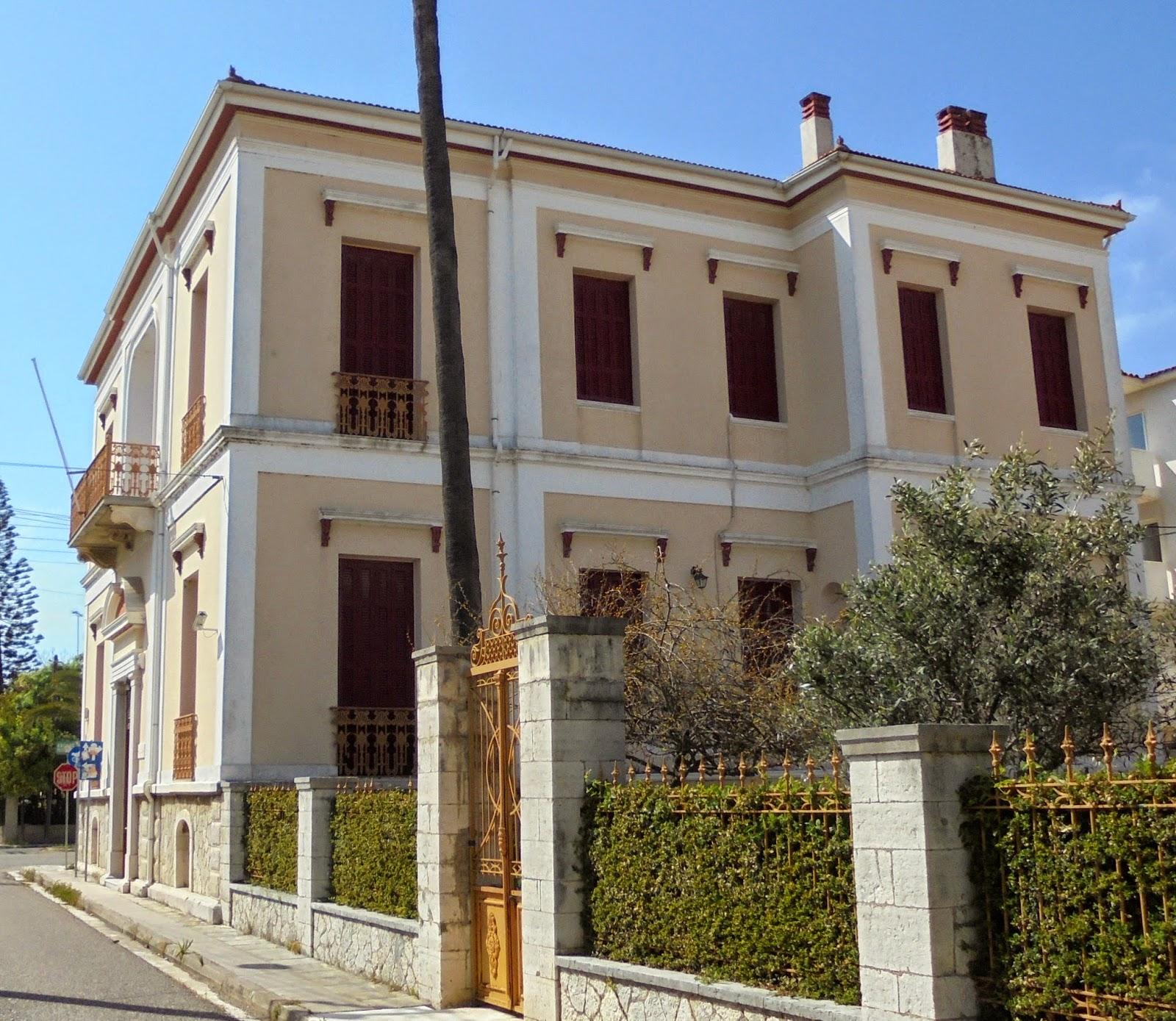 οικία του Πετρόπουλου Κωστάκη στο Μεσολόγγι