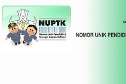 Cara Mendapatkan NUPTK Bagi GURU NON PNS ONLINE Tahun 2017/2018